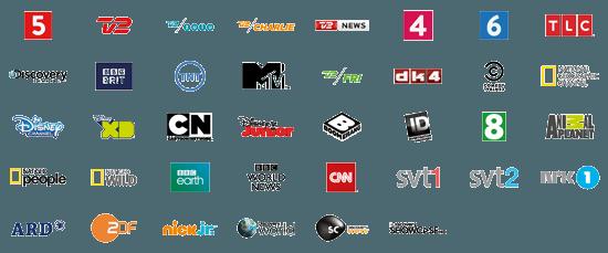 alle tv kanaler